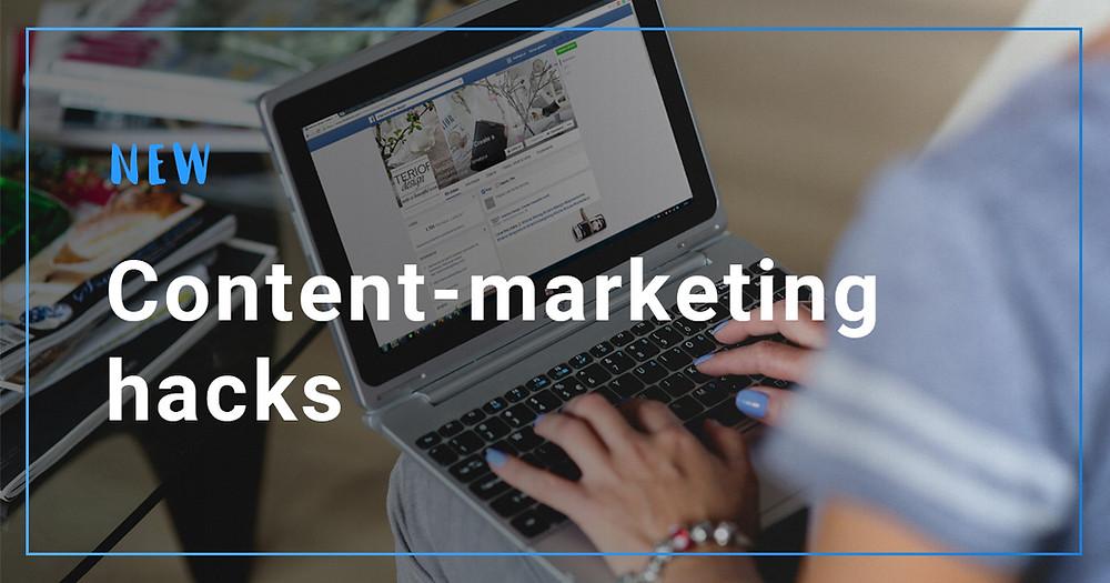 New content-marketing hacks