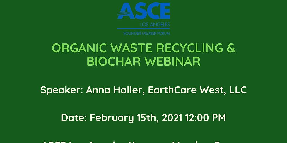 Organic Waste Recycling & Biochar Technical Webinar
