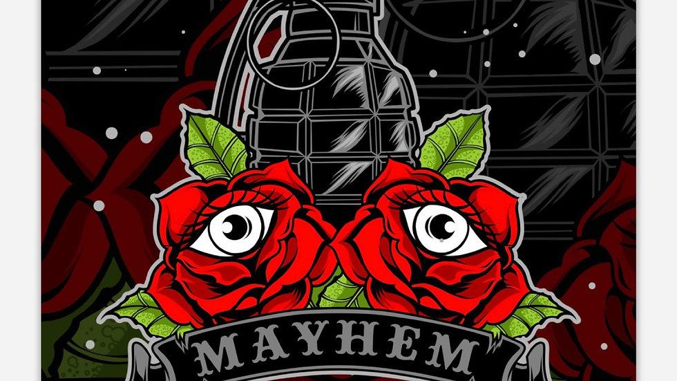 Mayhem Sticker
