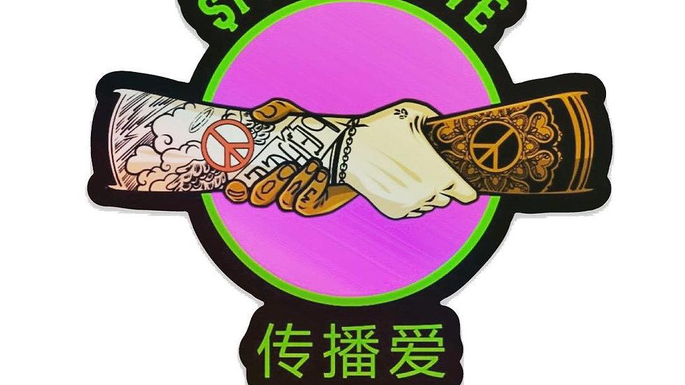 $pread Love Sticker