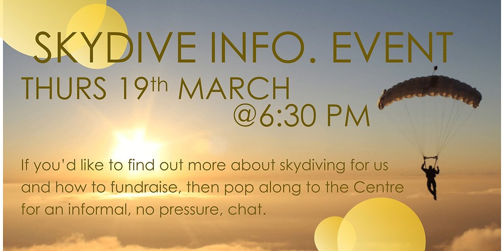 Skydive Information Event