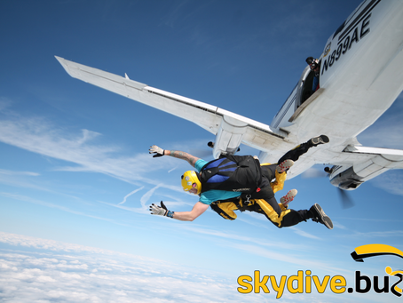 Sky dive for us in 2020