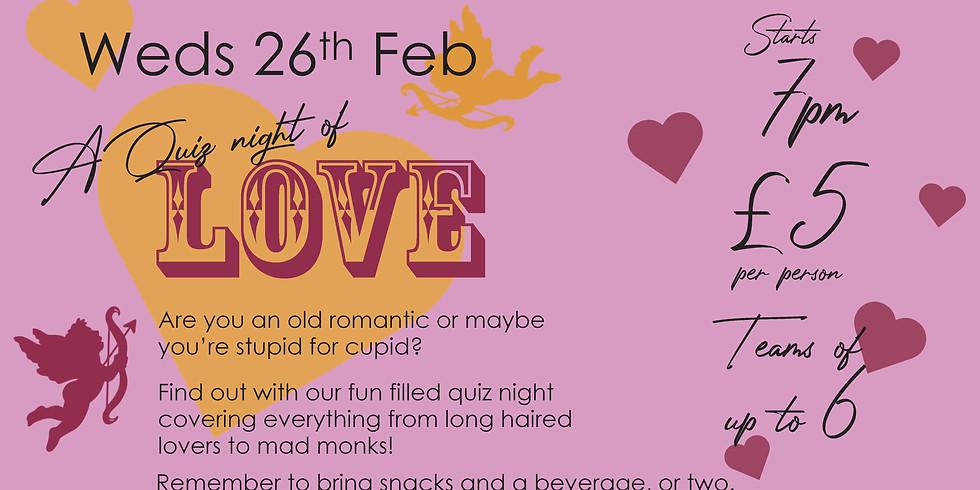 A Quiz night of Love