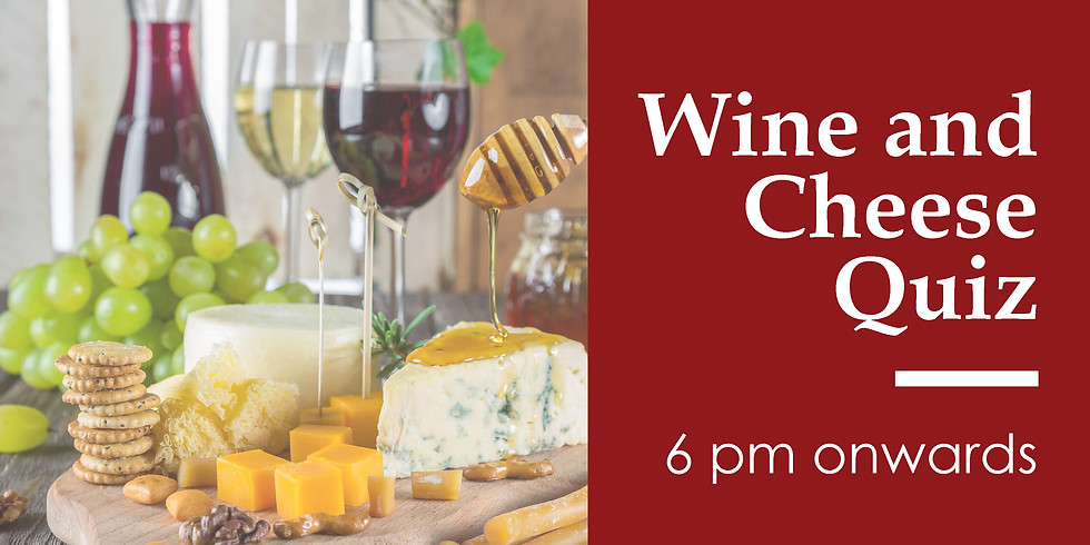 Cheese and Wine tasting quiz