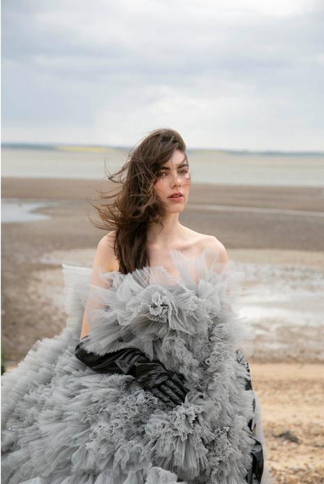 PHOTOGRAPHER Kerttu Kukk   ART DIRECTOR Megan Elman  STYLIST Innes Woo  HAIR AND MAKEUP Charlotte Fitzjohn  MODEL Madeleine Knighton / Elite  May, 2019.