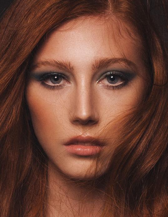 PHOTOGRAPHER James O'Doherty  MAKEUP Charlotte Fitzjohn  HAIR Sandra Hahnel  MODEL Isobel / First Models  August, 2019.