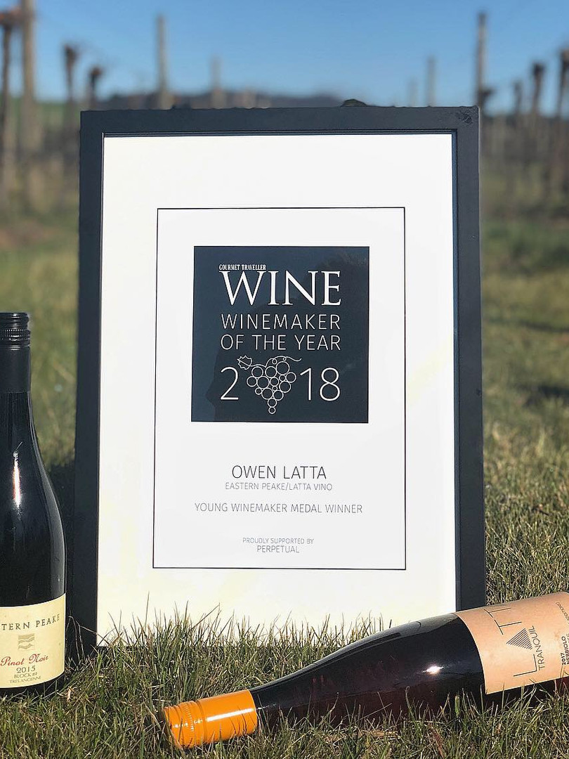 GT Wine Young Winemaker 2018