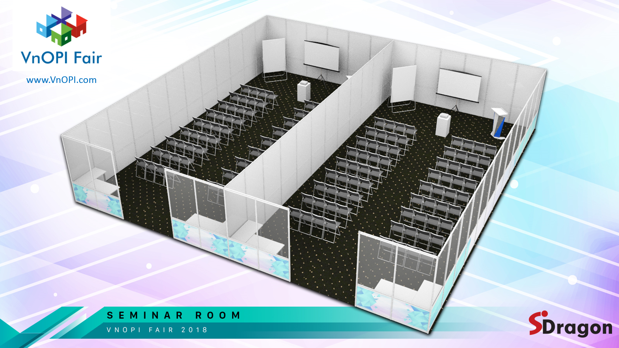 VnOPI_B2B Desk Booth Layout 1