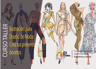 lustración para Diseño de Moda: Crea tus primeros bocetos
