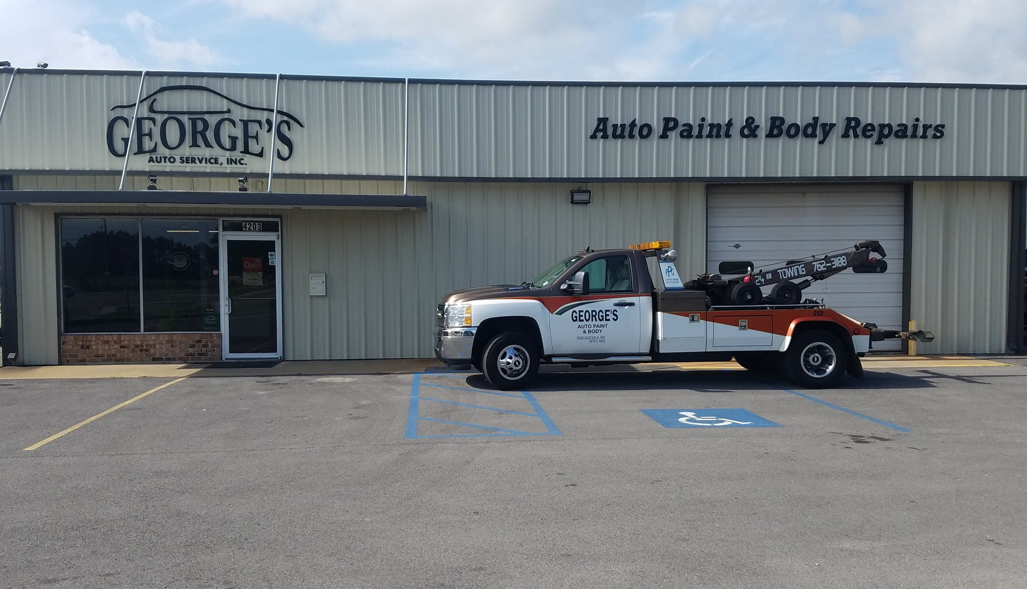 LOCATION | Georges Auto Paint and Body | United States