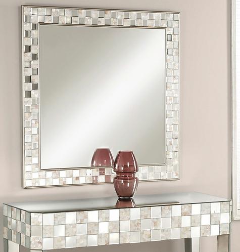 Pearl Accent Mirror