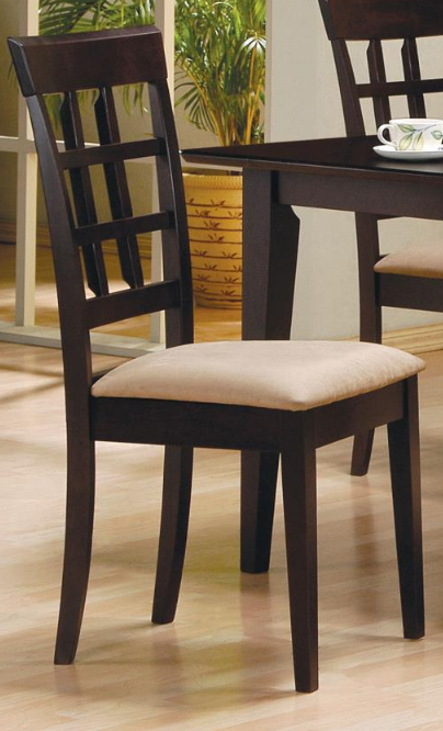 Wheat Back Cappuccino Chair
