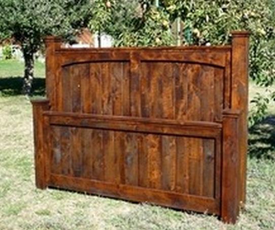 Custom Alder Bed Frame