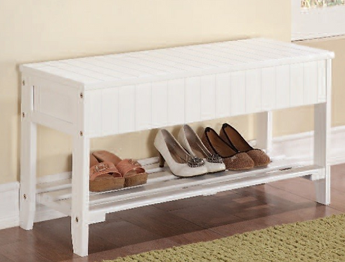 Storage Bench Shoe Rack