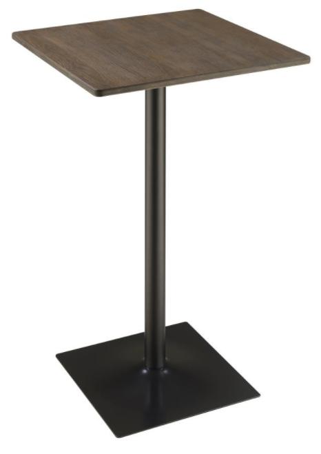 Dark Elm Bar Table