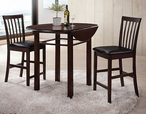 Counter Height Bistro Set with Drop Leaf
