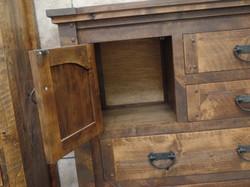 Alder Dresser with Cabinet