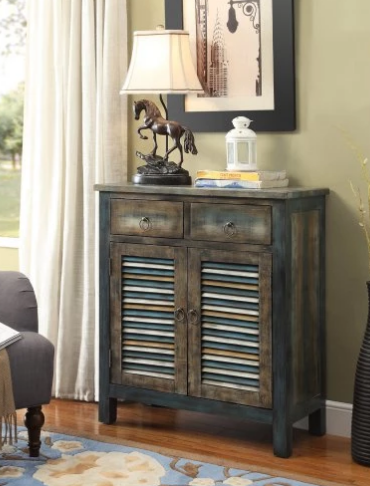 2 Drawer Console Table Cabinet