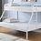 Thumbnail: White Metal Bunk Bed
