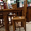 Thumbnail: Distressed Alder Dining Table