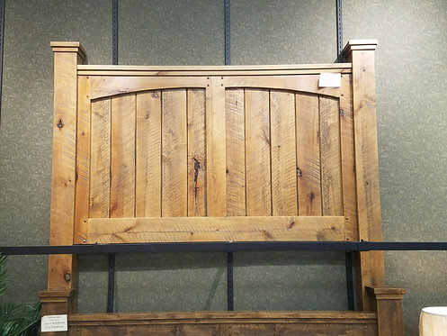 Distressed Alder Headboard