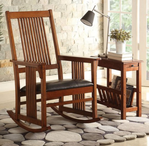 Mission-Style Rocking Chair
