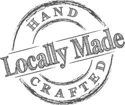 hand crafted locally made logo