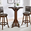 Thumbnail: Chesnut & Brown Leatherette Bar Stool
