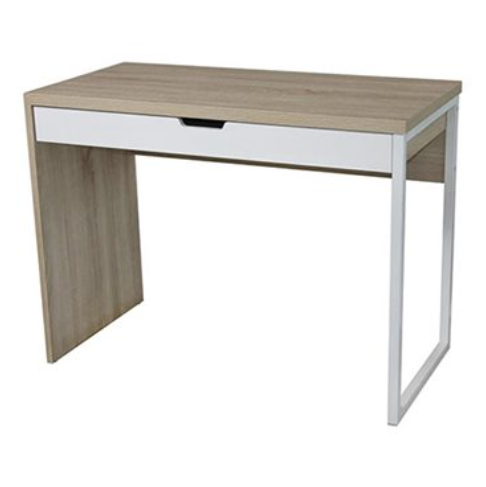 Birch Desk with Large Drawer