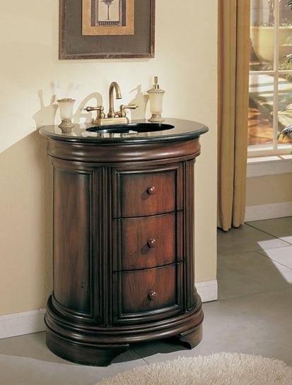 Narrow Granite Top Sink