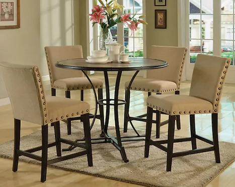 Light Oak Counter Height Table