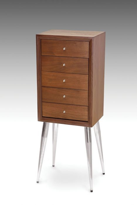5 Drawer Jewelry Armoire