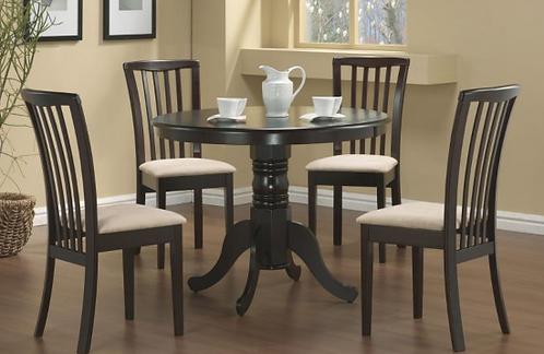 Cappuccino Pedestal Dinette Table