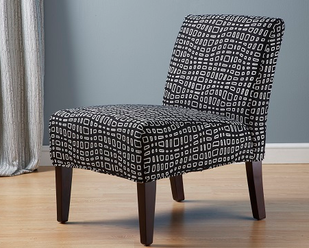 Custom Slipcovered Accent Chair