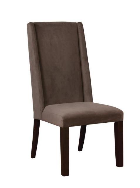 Velvet Parson Chair