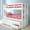 Thumbnail: Convertible Storage Bunk with Trundle