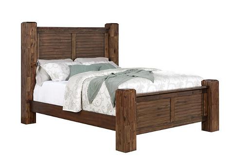 Vintage Burbon Rustic Bed Frame