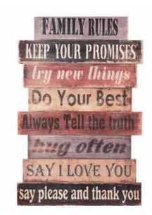 """Good Advice"" Wall Art"