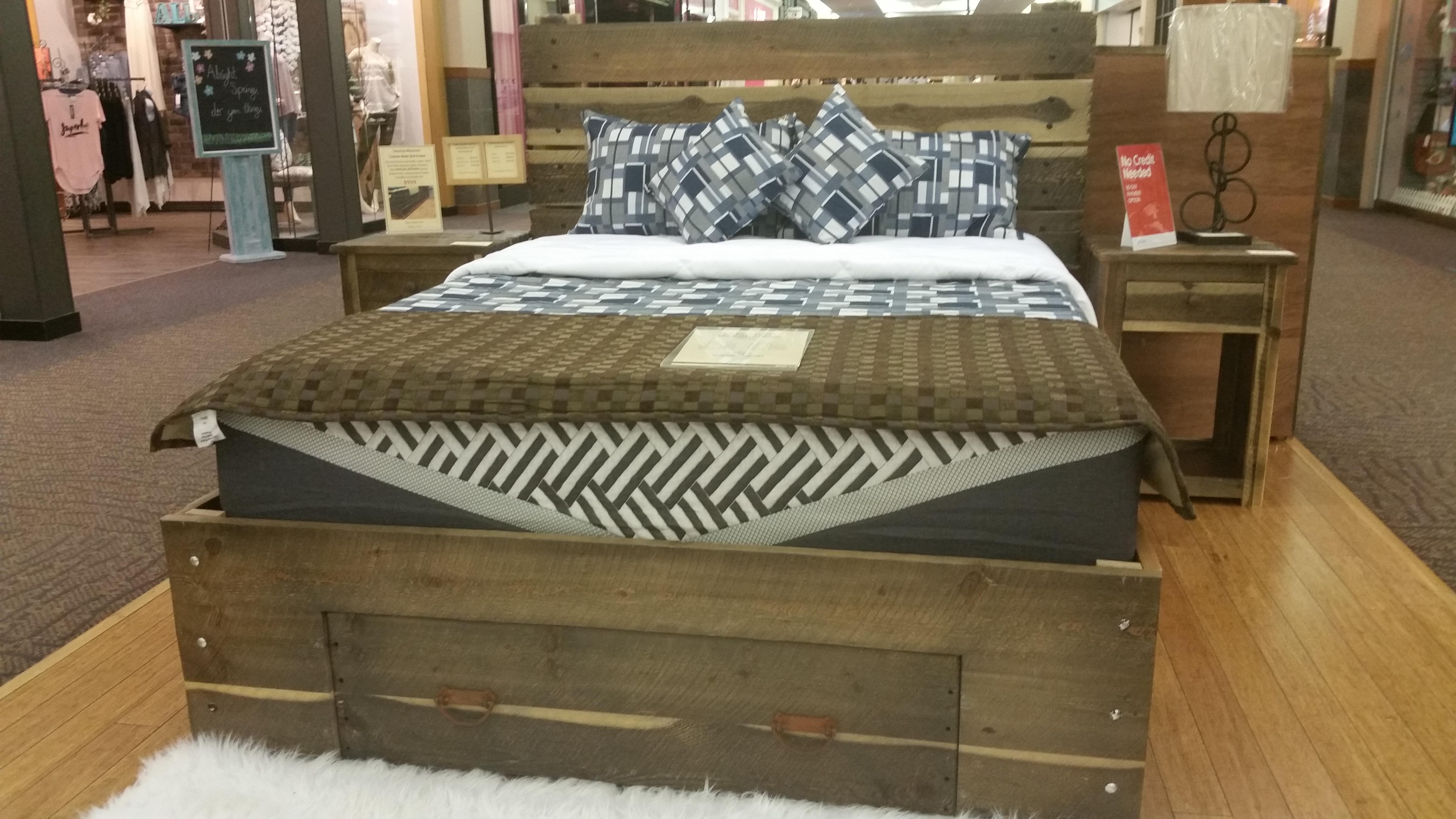 Barnwood Bed Frame