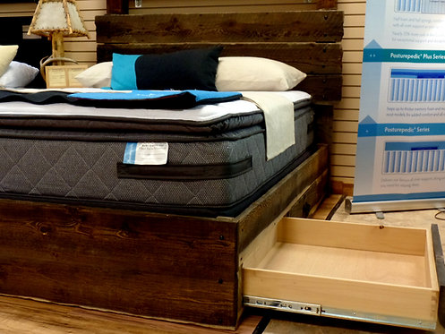 Timeless Mountain Storage Bed