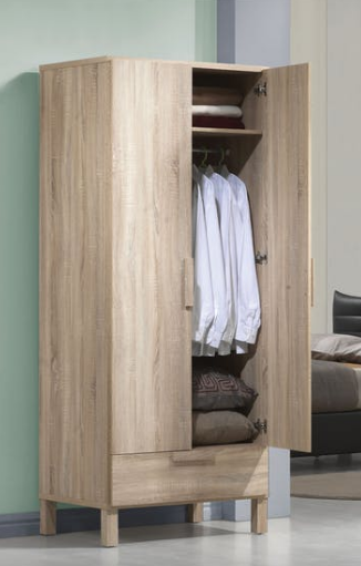Light Oak Wardrobe