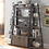 Thumbnail: Driftwood Bookcase with Cabinets
