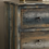 Thumbnail: 6 Drawer Antique Teal Console Table