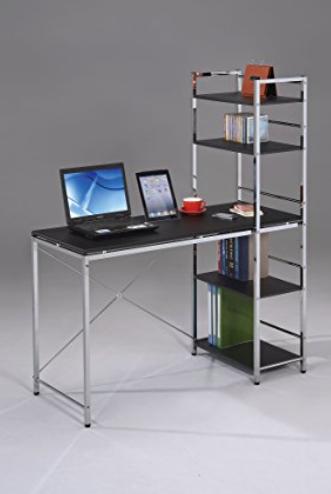 Computer Desk with Bookshelf
