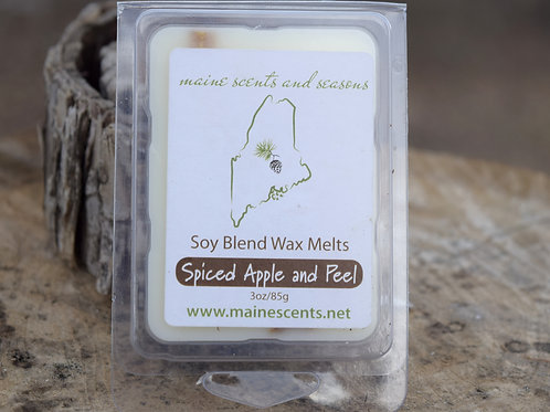 Spiced Apple and Peel Wax Melts