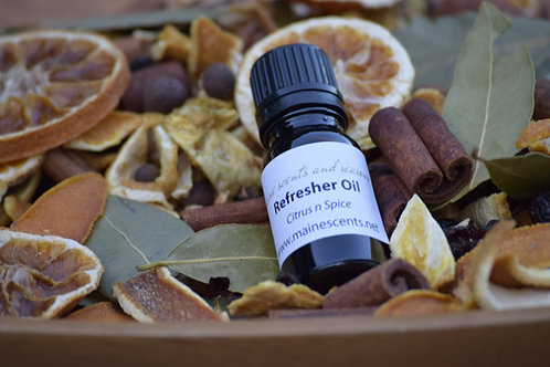 Citrus and Spice Potpourri 3 Cup Bag With Refresher OIl