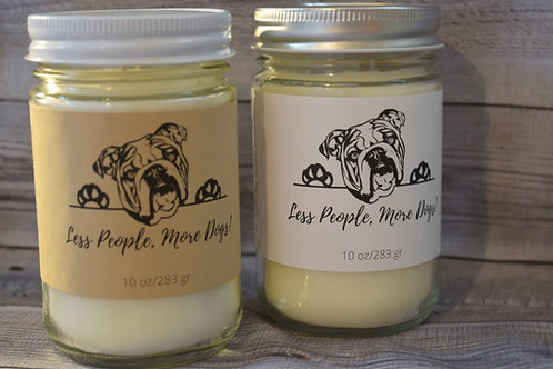 Bulldog Soy Blend Candle | Personalized | Gift For Dog Lovers
