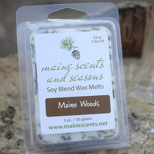 Maine Woods Wax Melts