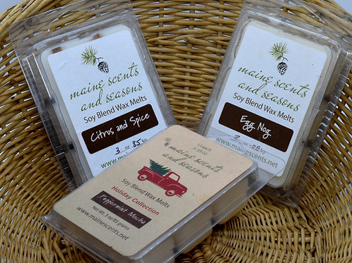 Holiday Trio Wax Melts 50% SALE