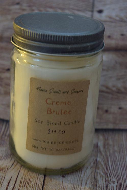 Creme Brulee Soy Blend Candle 10 oz